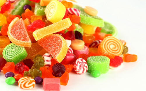 糖果中常见添加剂可能影响消化