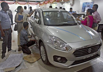 India's New-Car Sales Sputter 9% in June