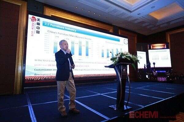 中国涂料工业协会秘书长阎永江先生发言