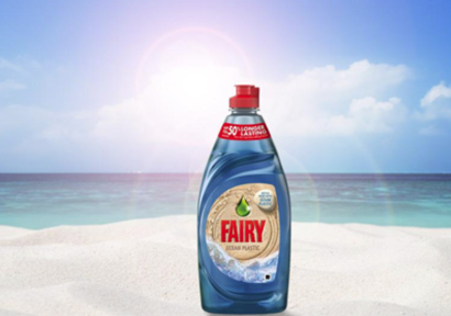 P&G Launches New Fairy Bottle Made From Ocean Plastic