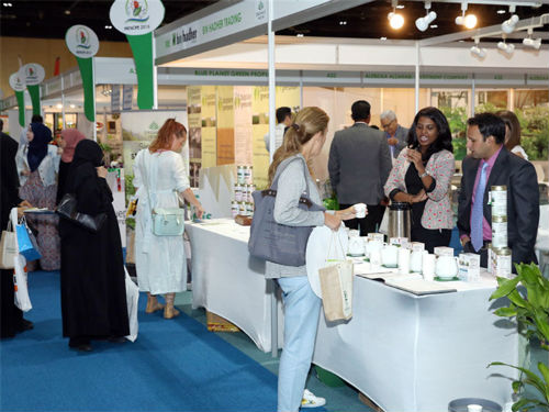 What is the secret to the success of the Dubai Organic Food Show?