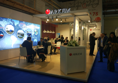 Turkchem Special decoration exhibitor show