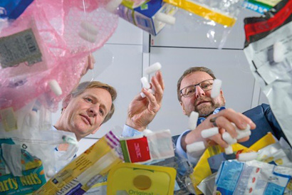 BASF breaks new ground in plastic waste recycling