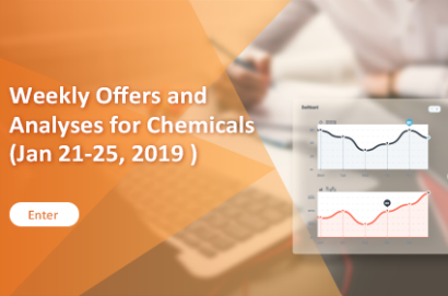 Weekly Offers and Analyses for Chemicals (Jan 21-25, 2019 )