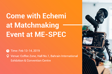 Come with Echemi  at Matchmaking Event at  ME-SPEC