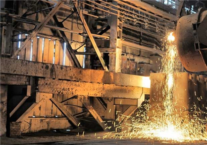 Iron and steel industry ushered in