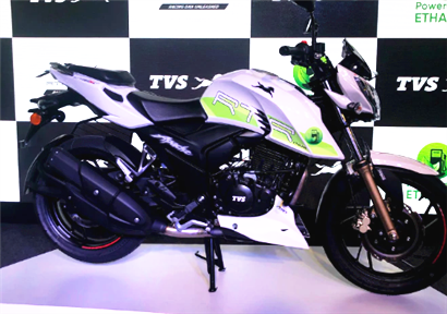 India's first ethanol-based motorcycle launched