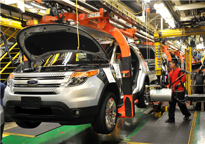 In August, the PMI of manufacturing industry in China rose by 0.5 percentage