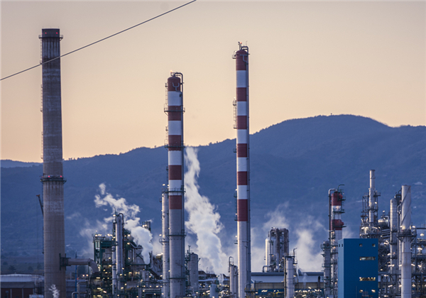 What are China's shortcomings in the chemical industry?