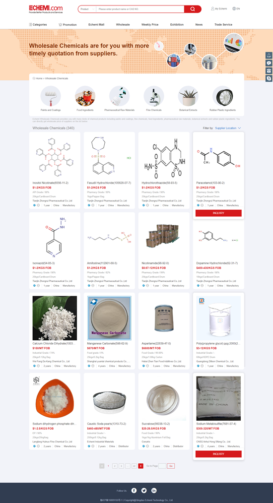 FireShot Capture 010 - Wholesale Chemicals Directly from Suppliers on Echemi - www.echemi.com