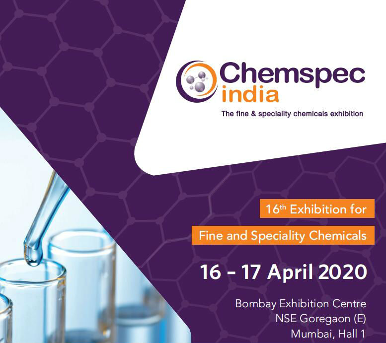 Chemspec India 2020 -16th Exhibition for Fine and Speciality Chemicals