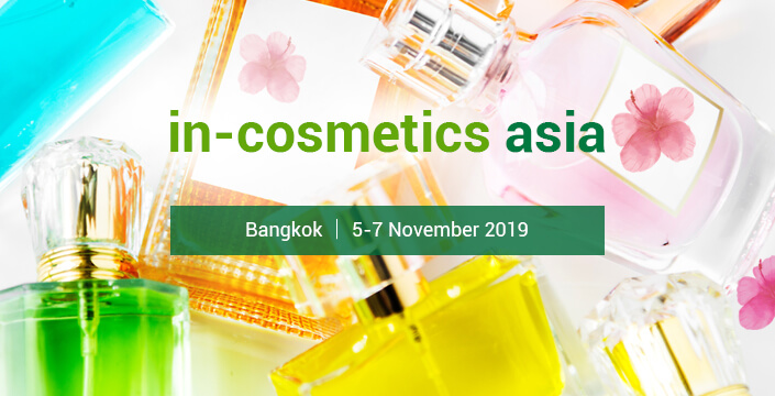 In-Cosmetics Asia 2019