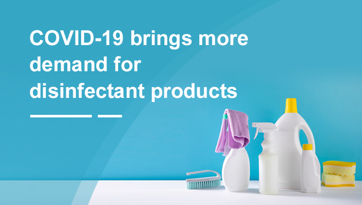 COVID-19 brings more demand for disinfectant products