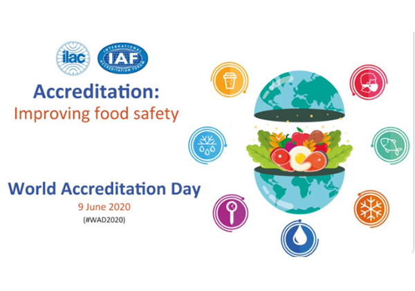 Food safety will be theme of World Accreditation Day 2020