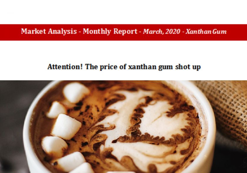Attention! The price of xanthan gum shot up