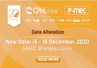 CPhI & P-MEC China moves to December