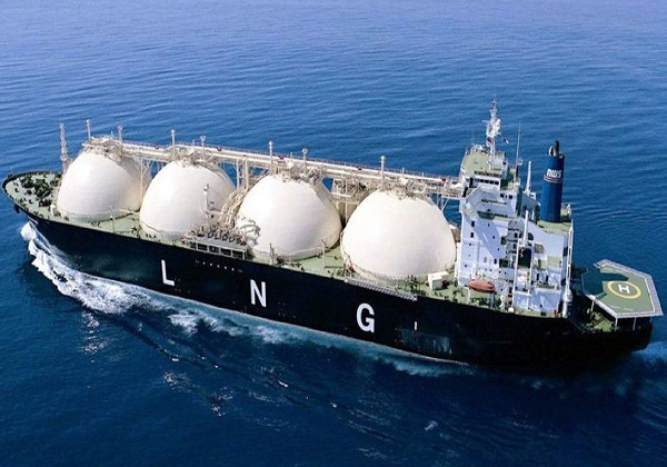Tianjin port tops LNG imports in China