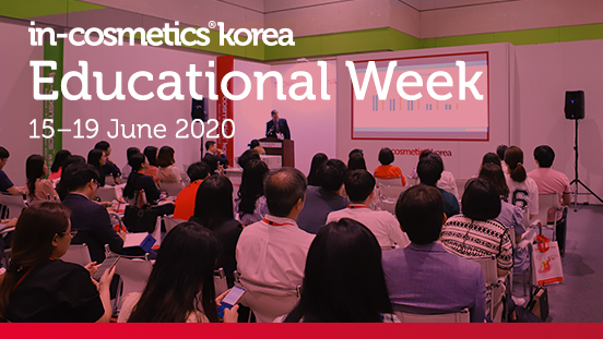 In-cosmetics Korea launches Educational Week to inform and inspire