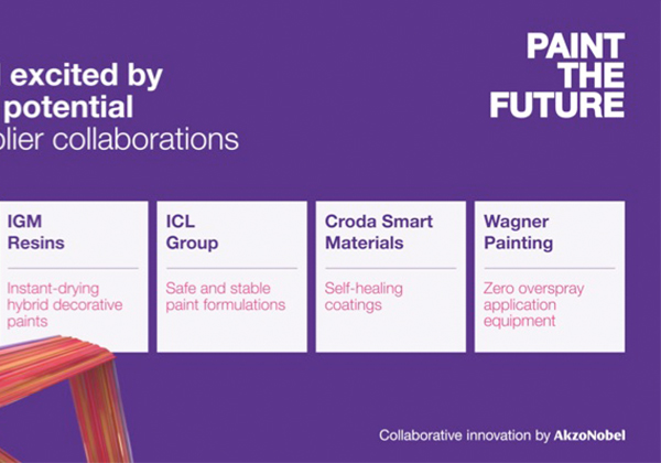 AkzoNobel Announces Paint the Future Collaborations