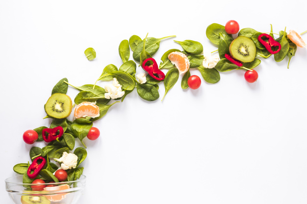 fresh-vegetables-fruits-arranged-curved-shaped-white-backdrop_23-2148026856