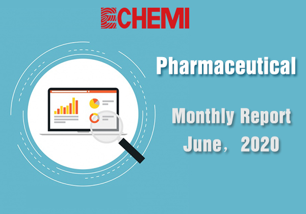 Market Analysis - Monthly Report - June, 2020 - Pharmaceutical
