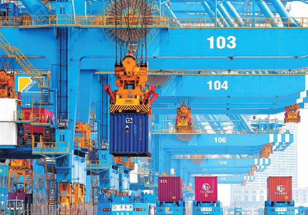 China's Tianjin foreign trade up 12.1%