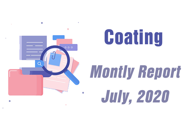 Market Analysis - Monthly Report - July, 2020 - Coating