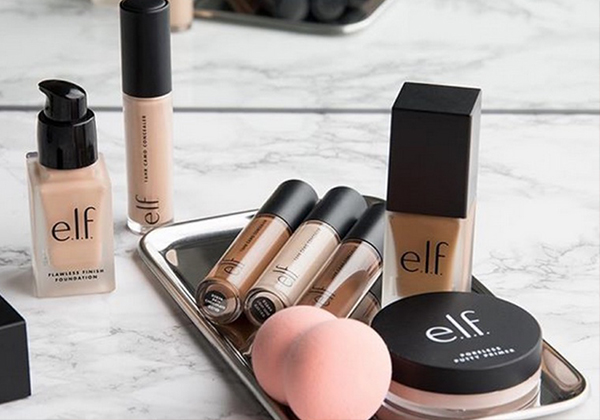 e.l.f. Net sales in the first fiscal quarter increased by 8%