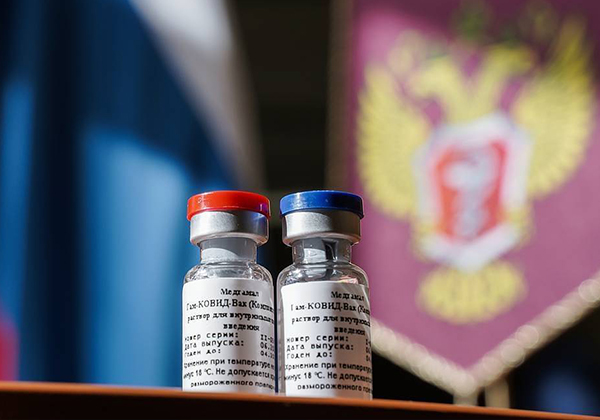 Russia registers the world's first new covid-19 vaccine