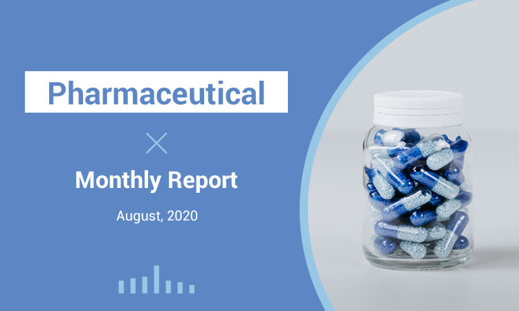 Market Analysis - Monthly Report - August, 2020 - Pharmaceutical