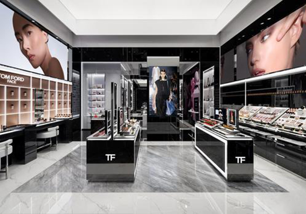 TOM FORD's Largest Beauty Store in the World Settles in Guangzhou, China