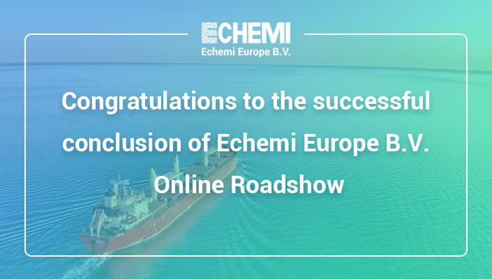 Echemi Europe B.V. Online Roadshow - Order online Local Shippment