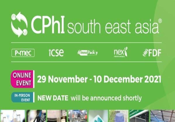 Postponement of CPhI South East Asia 2021