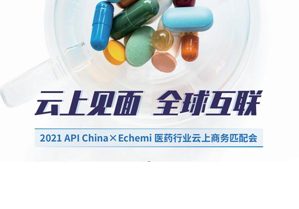 2021 API China x Echemi医药行业云上商务匹配会