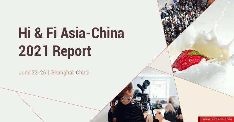 Health ingredients & Food ingredients Asia-China 2021